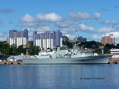 HMCS Toronto (FFH333) Halifax Class Frigate (Gerald (Wayne) Prout) Tags: hmcstorontoffh333halifaxclassfrigate moored cfbhalifaxdockyard cityofhalifax novascotia canada prout geraldwayneprout eastmankodakcompany kodak dx6490 zoom digital kodakdx6490zoomdigitalcamera hmcs toronto ffh333 halifax class frigate canadianforces canadiannavy canadianpatrolfrigateproject cfbhalifax canadianforcesbase saintjohnshipbuildingltd saintjohn newbrunswick excellencewithvigour maritimeforcesatlantic marlant exclusiveeconomiczone atlanticocean gulfofstlaurence arabiansea meritoriousunitcommendation dieselengine