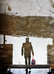 Liquid world (PattyK.) Tags: ioannina giannena greece grecia griechenland whereilive autumn november reflection 2016 nikond3100 amateurphotographer ilovephotography hellas ellada europe        weather rain