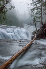 Into The Mist (Gary Randall) Tags: gar30682 washington pacificnorthwest waterfall water waterfallwednesday nationalforest river lewisriver landscape