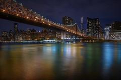 Queensboro Bridge (karinavera) Tags: travel sonya7r2 bridge nyc longexposure manhattan night queensboro cityscape city