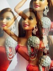 Sassy Hollywood Fashionista (Sara.C~) Tags: barbie sporty summer teresa sassy artsy nikki fashionistas fashionista aa afro american afroamerican collector label pink gold black doll dolls carolina herrera