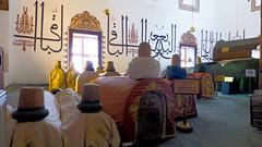 Konya - Mevlana Turbesi, shrine interior, tombs (2) (damiandude) Tags: rumi dervish sufi
