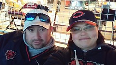 me and nathalie. december 2016 soldier field (timp37) Tags: me nat nathalie chicago illinois december 2016 soldier field bears game nfl football winter 49ers