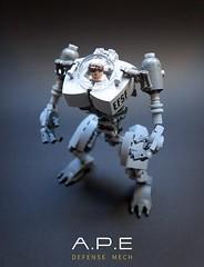 A.P.E Defense Mech LEGO MOC (GolPlaysWithLego) Tags: lego moc mech walker