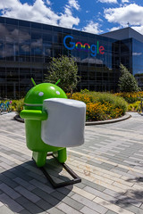Android Marshmallow (NykO18) Tags: amphitheatrepkwy android art bicycle bike california candy food google googleplex marshmallow mountainview northamerica offices sanfrancisco sculpture statue sweet transportation unitedstatesofamerica usa vehicle workspace