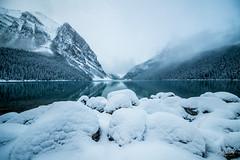 The Next Morning (Ar'alani) Tags: lakelouise alberta travelalberta canada snow winter banff banffnationalpark travel adventure roadtrip