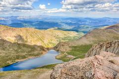 Mount Evans, Colorado (AP Imagery) Tags: summitlake landscape mountain rockymountains mount colorado summit evans mtevans devner