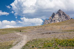 The Journey (GlobalGoebel) Tags: canonef24105mmf4lisusm canoneos5dmarkiii 24105mm grand teton national park alaska basin wyoming mountain tetons backpacking backcountry public lands wilderness usfs united states forest service trail hike hiker hiking tetoncresttrail