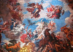 Blenheim Palace (pefkosmad) Tags: jigsaw puzzle leisure hobby pastime 750pieces complete blenheimpalace souvenir ceiling oxfordshire oxon england uk louislaguerre