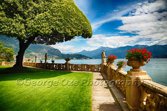 Villa Terrace at Lake Como, Lombardy, Italy (George Oze) Tags: lakecomo lennocomo lombardi lombardy northernitaly paradise provinceofcomo villadelbalbianello architecture balcony balustrade baroque beautiful buildingexteriors coast colorful daytime europe european famous fascinating garden glamorous historic horizontal idyllic italy lake lakeside landmark landscape lawn luxurious mansion monument mountainous mountains nobody outdoors palace plants pottedflowers quaint redflowers relaxation rural scenic statues summer sunny terrace travel trimmed umbrellatree villa water wonderful it