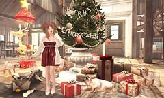 Hello December (Bishybaby) Tags: fawny sl secondlife thekawaiiproject astralia breathe vincue whatnext tannenbaum offbeat sanarae nani whimsical dlab vagabond