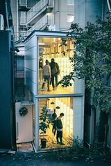 Japan - Tokyo - Omotesando (st3000) Tags: japan asia nippon xpro1 fuji xf27 tokyo shopping harajuku omotesando lights night nightshot stores hip hipster
