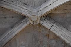 Clau de volta, claustre de la Seu Vella de Lleida (esta_ahi) Tags: lleida claustre claustro cloister seuvella ri510000156 catedral gtic gtico segri lrida spain espaa  claudevolta clave monteflordelisado