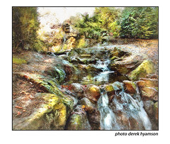WATER FEATURE (Derek Hyamson (5 Million views)) Tags: hdr water feature seftonpark