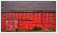 Barn (Timothy Valentine) Tags: redwall tuesday 2016 vacation 0916 texture yarmouth novascotia canada ca