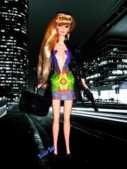 👉 Sexy e perigosa 👈 (FranBoy Monteiro) Tags: barbie love model night noite fun diversão amor diva top doll dolls collection collector fashion linda boneca gay toy toys dress printdress print