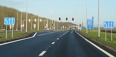 N305 Zeewolde-6 (European Roads) Tags: n302 n305 zeewolde harderwijk flevoland 2x2 autoweg nl netherlands
