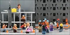 Constructive Compliments 1966 vs 2016 (AzureBrick) Tags: doris then now society lego bricks magazine 1966 2016