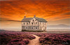 Flood (Jean-Michel Priaux) Tags: paysage landscape nature house sky way sunset clouds photoshop painting mattepainting haunted terrific