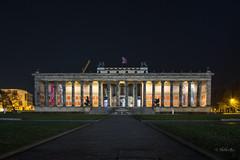 Altes Museum am Lustgarten , Museumsinsel Berlin (heiko bo) Tags: heikobo 122016 berlin lustgarten altesmuseum night