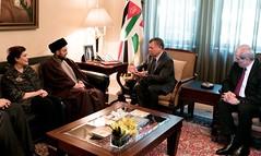 (Royal Hashemite Court) Tags: jordan kingabdullahii kingabdullah ammar alhakim iraq