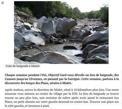09 riviere de mialet anduze (denis.kaufholtz) Tags: anduze riviere de mialet le gardon france wild swimming gorge coin baignade discet