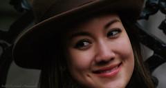 Portrait (Natali Antonovich) Tags: portrait mood smile sweetbrussels brussels hat hats hatisalwaysfashionable lifestyle winter belgium belgique belgie tradition