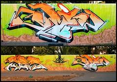 Serial - Blyw | Huelva, 2013 (BLYW de ABDT) Tags: españa de graffiti huelva andalucia crew base taker bliw abdt abasedetaker blyw
