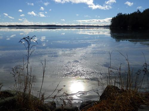 Lake Auburn Ice Reflection- J Maloney
