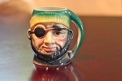 Pirate Mug (A Great Capture) Tags: toby green japan vintage ceramic character style novelty pirate mug pottery patch collectors arrrggh ash2276 ashleyduffus ashleysphotographycom ashleylduffus
