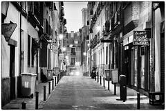 Madrid street night (iulian nistea) Tags: madrid street night spain strada rue espagne nuit spania noapte noaptea