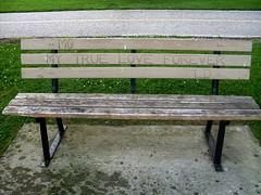 MG Loves LD (Georgie_grrl) Tags: ontario love bench sweet smiles happiness roadtrip windsor forever tribute positive odettesculpturepark visitingrelatives version20 itsthelittlethings 365project mydarkpinkside samsungd760 akawindsorsculpturepark mglovesld
