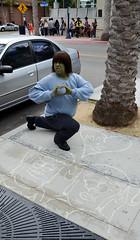 7-21-2013 San Diego Comic-Con 2013 Sunday (francisalexramos) Tags: street cars comics dc san fighter avatar sunday diego disney superman kidrobot transformers pixar spongebob legos planes dalek ang comiccon nba brucelee mattel wwe optimusprime squarepants akuma 2013 jessehernandez