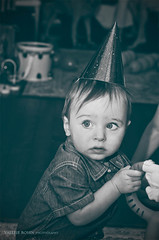 Avery 9 (Valerie Rosen) Tags: people canada boys monochrome childhood portraits children nikon quebec montreal documentary monotone birthdays rosen valerie candidphotography