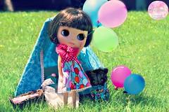 Love is like a balloon......