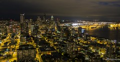 Seattle from the Space Needle (skpfoto) Tags: seattle skyline spaceneedle kerrypark