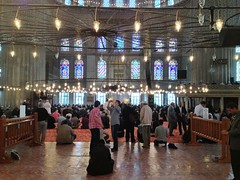 Blue Mosque, Istanbul (portable_soul) Tags: muslim islam pray praying mosque allah moslem shalat musholla baitullah