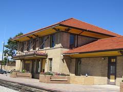 C. 1909 Depot (Patricia Henschen) Tags: colorado sanluisvalley depot railroadstation drg slrg alamosacolorado riograndescenicrailway riograndscenicrailroad