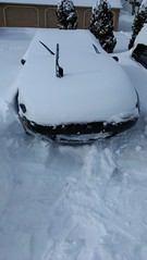 2013 February 8 through 9 - Winter Storm Nemo (Mark of Bethel) Tags: snow mazda blizzard miata bethel mx5 winterstormnemo