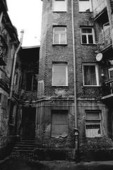 Praga Polnoc, Warszawa (Mycroyance) Tags: blackandwhite 35mm praga warsaw ilfordpan polnoc analogphotograpfy