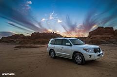 LAND in DESERT (Mohammed Hommadi   ) Tags: car landscape desert 4x4 land landcruiser