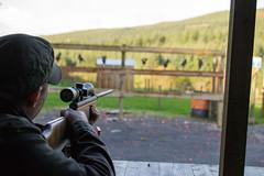 Justin (Jon..Hall) Tags: building team air rifle clay shooting blizzard teambuilding lazydogshooting