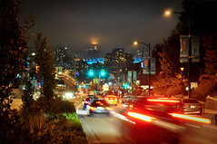 Vancouver at Night (Surrealplaces) Tags: vancouver canada bc night cambie calgary