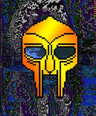 doom_mask1_gif (Schabrazze aka Peekasso) Tags: art digital mask cunt slut lol dick bitch pixel hero gif 8bit hip hop sucking whore lolli milf fecalface peekasso