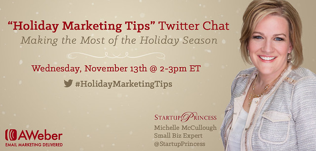 Holiday Marketing Tips Twitter Chat