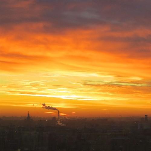 Утренняя Москва ©  reloni