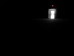 One Way Out (RobertJinks) Tags: door dark room exit
