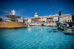 Trafalgar Square, London (CamelKW) Tags: england london public westminster unitedkingdom space central trafalgarsquare tourist attraction