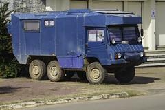 All terrain camper vehicle (Keith Kelly) Tags: city car truck asia cambodia seasia southeastasia roadtrip vehicle kh camper aroundtown kampot allterrain kampuchea utilityvehicle 6wheels provincialcapital