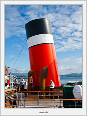 One Funnel or Two? (flatfoot471) Tags: summer scotland riverclyde greenock ships quay merchant paddlesteamer inverclyde customhousequay pswaverley